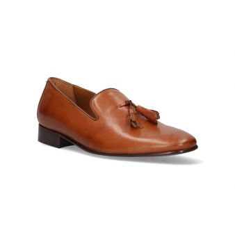 Tasseled Leather Loafer