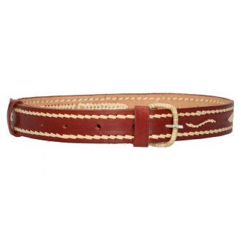 Cinturón espigado cuero