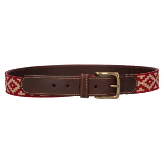 Cinturón guarda pampa rojo