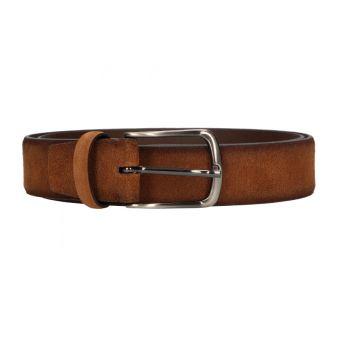 Cinturón liso cuero