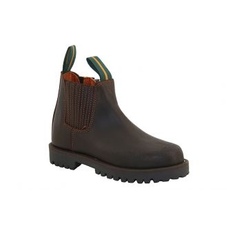 Boy's short boot with...