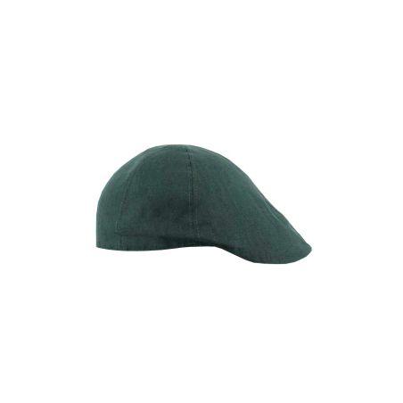 Gorra jockey lino verde