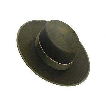 Sombrero lana 120 gr. Kaki