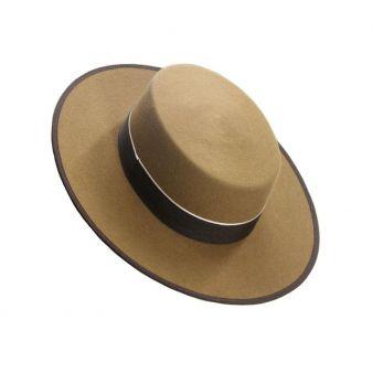 Sombrero lana 120 gr. Camel