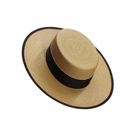 Sombrero niño panamá camel