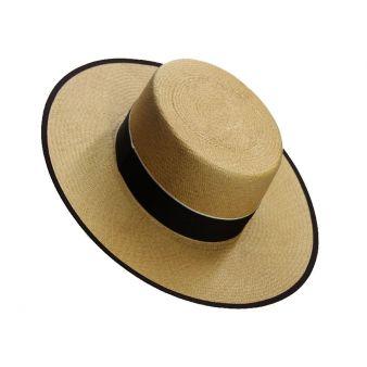 Camel boy's Panama hat