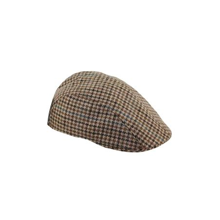 Gorra campera pata de gallo marron