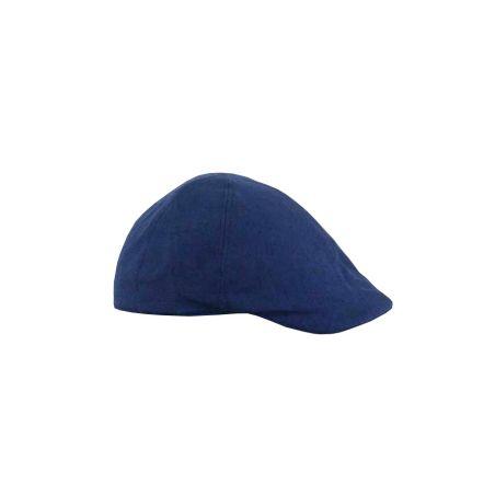 Gorra jockey lino azul