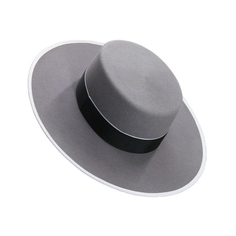Sombrero lana 180 gr. Gris