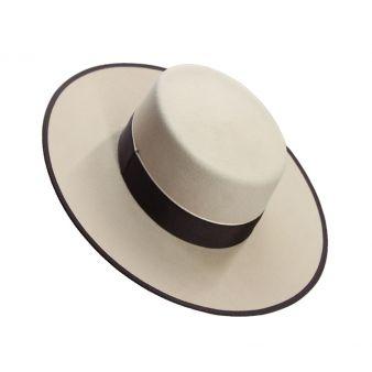 Sombrero lana 180 gr. Vainilla