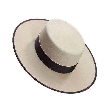 Sombrero Lana Vainilla