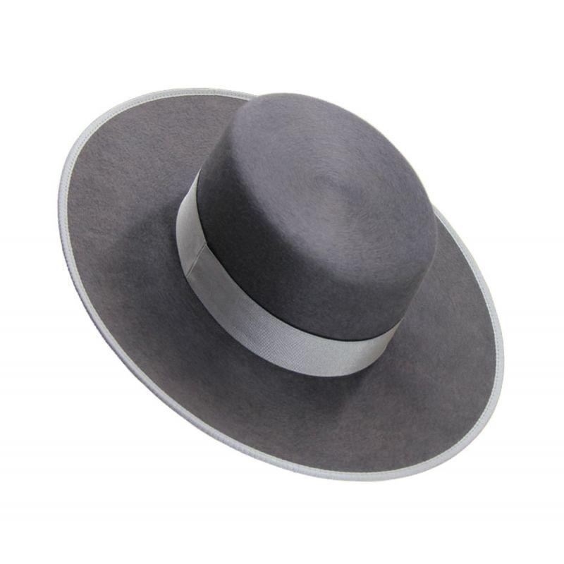 Sombrero Pelo 250 gr. Gris Uranio