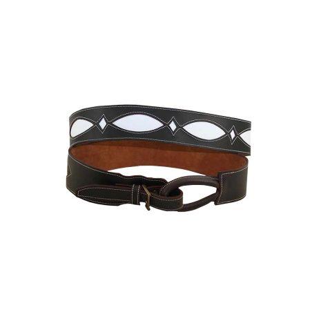 Cinturon señora baticola engrasado fondo blanco