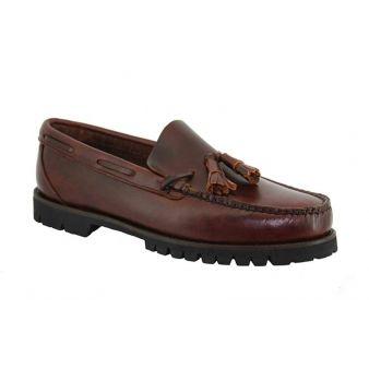 Tasseled Leather Loafer