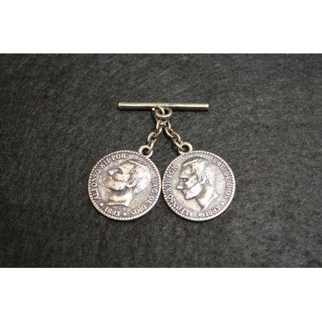 Caireles Niquel Viejo 2 Monedas
