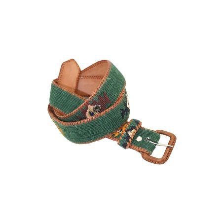 Cinturón Naif verde