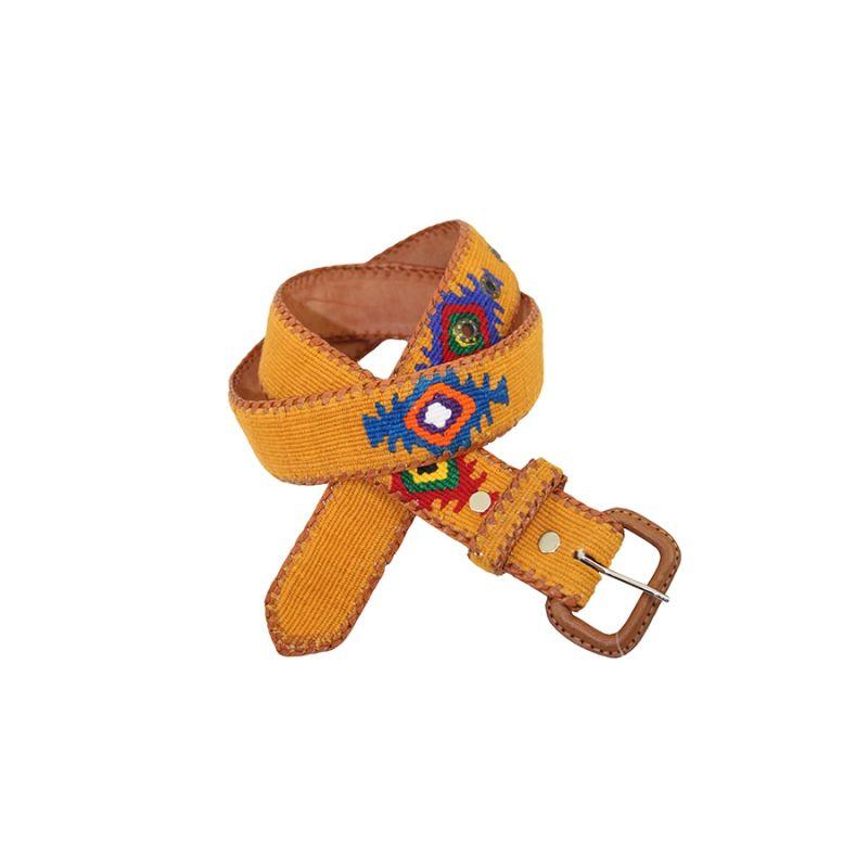 Cinturon Naif amarillo