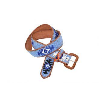 sky blue Naif Model Belt