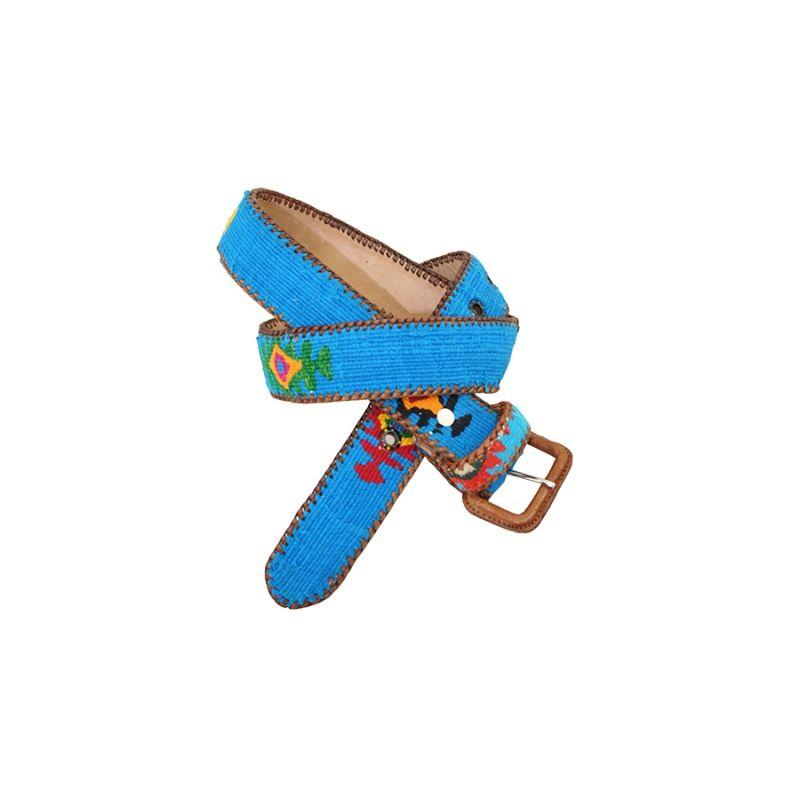 Cinturon Naif turquesa