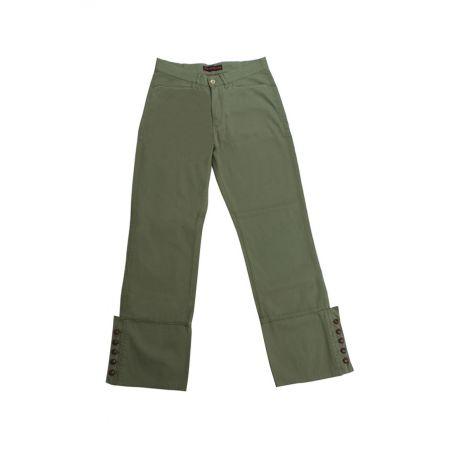 Pantalón campero pique Verde