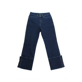 Mid denim country trousers