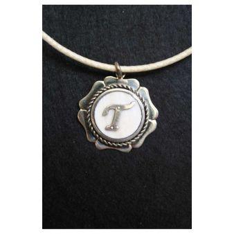 Letter T necklace
