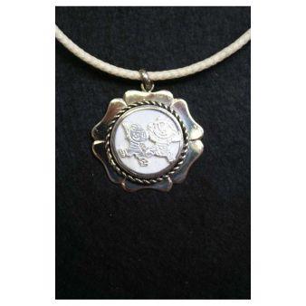 Boy-girl necklace