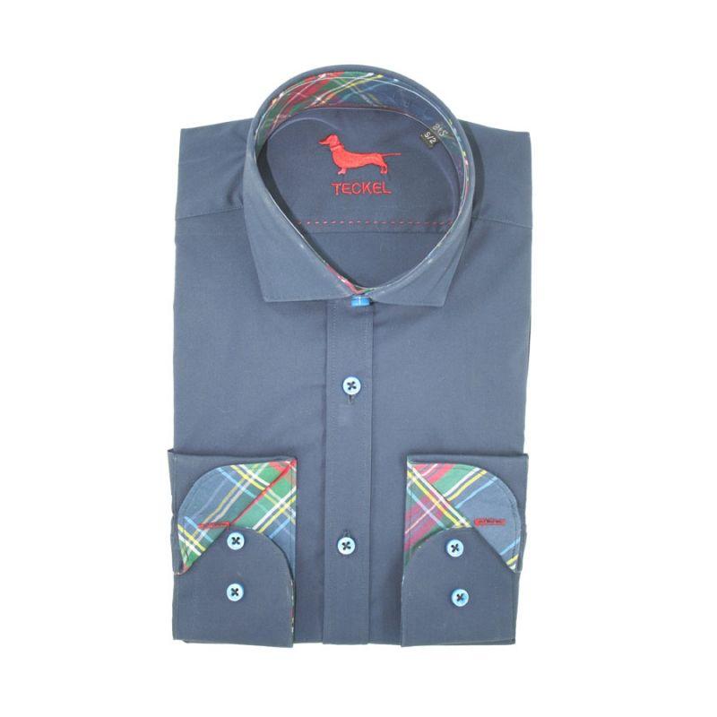 Camisa teckel marino