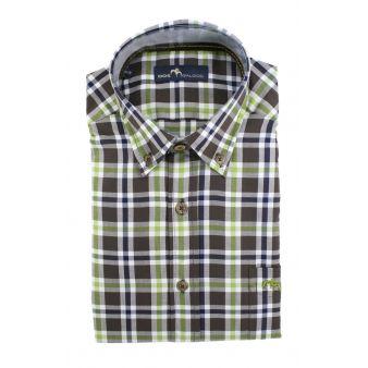 Camisa dos galgos cuadros