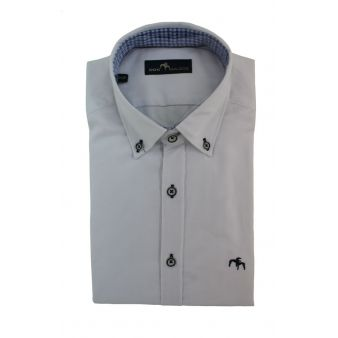 Camisa Dos Galgos Blanca