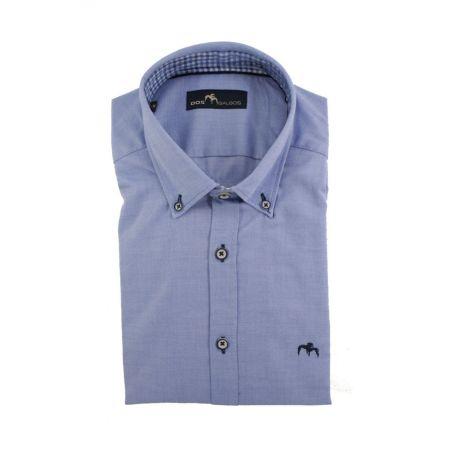 Camisa Dos Galgos celeste