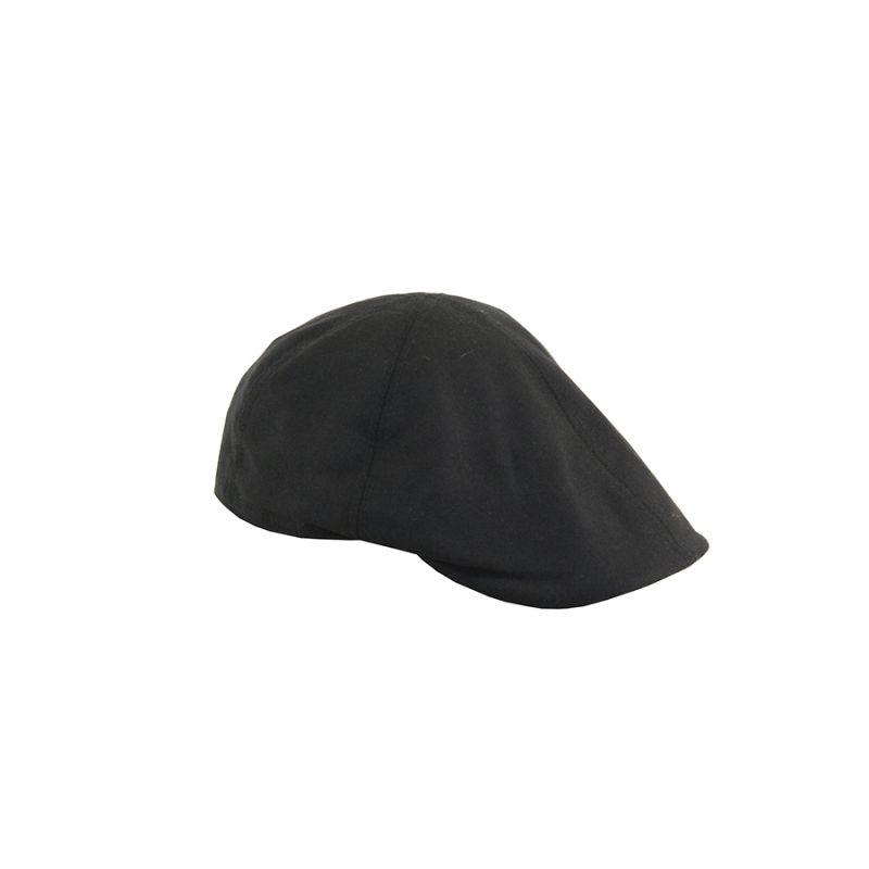 Gorra jockey lino negra