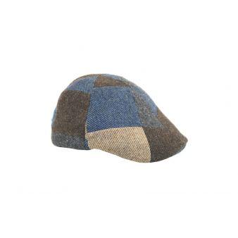 Patchwork sheatland jockey cap