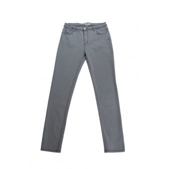 Pantalón pitillo gris