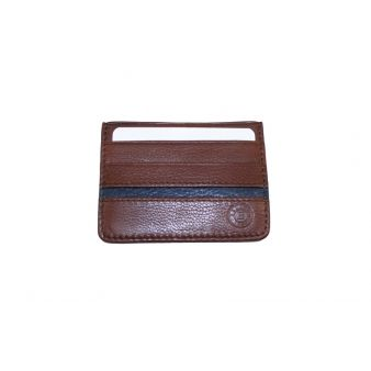 Combined brown-blue cardholder
