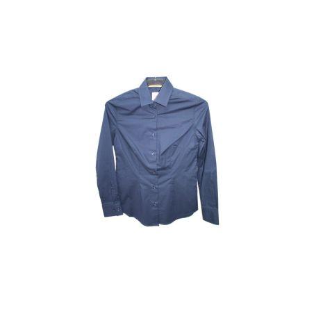 Camisa marino lisa