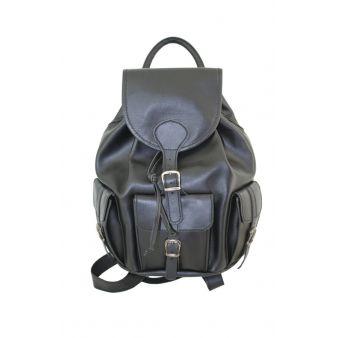 Mochila 3 bolsillos negro