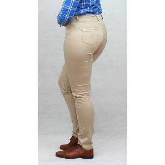 Pantalón elástico Beig