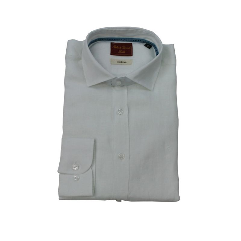 Camisa Lino blanca