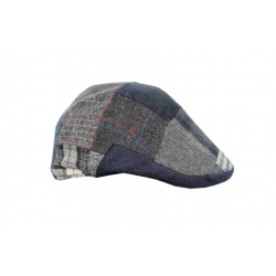 Gorra italiana parches azul