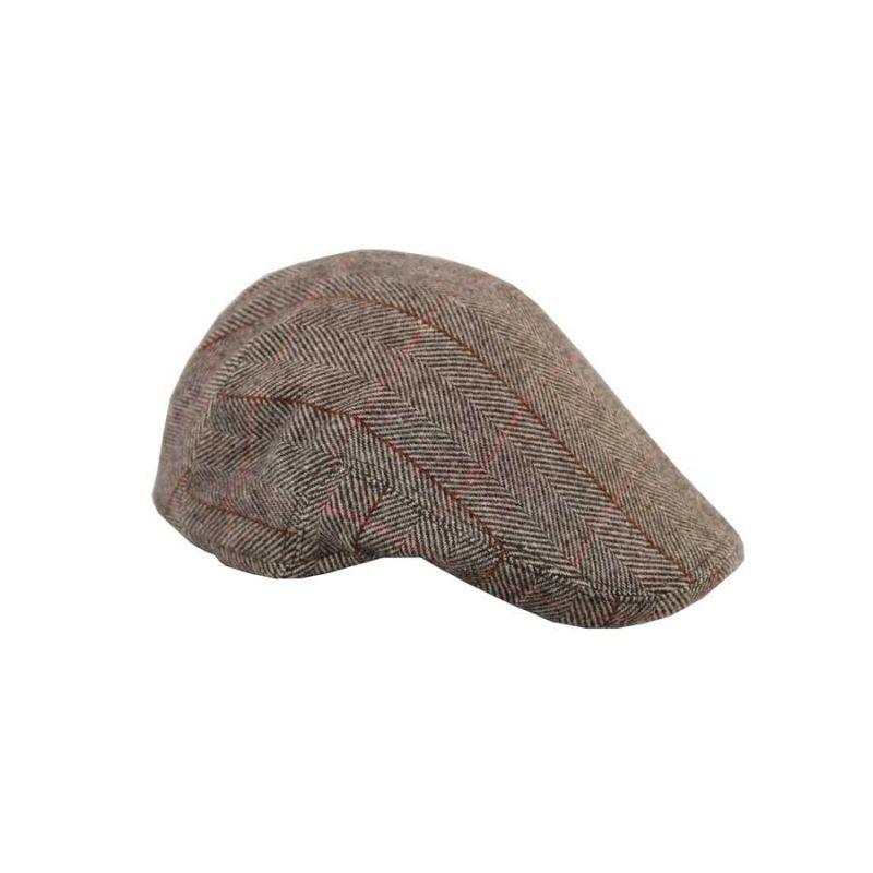 Gorra italiana espiga marron