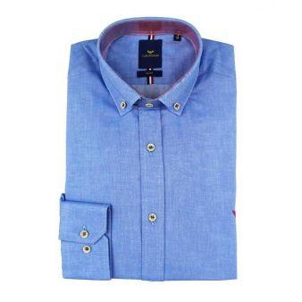 Camisa azul vaquera