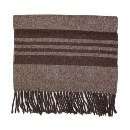 Manta estribera lana sin bolsillo Roble negativo