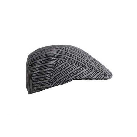 Gorra campera rayas grises