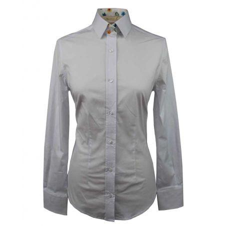 Camisa lisa blanca