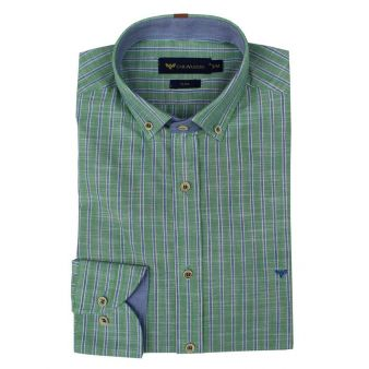 Camisa rayas verdes