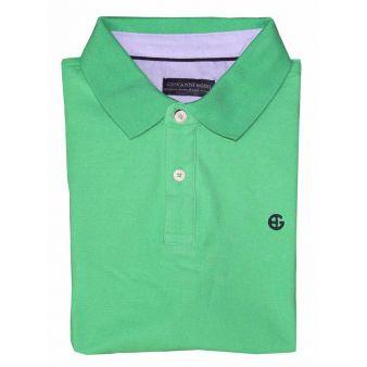 Polo de manga corta verde