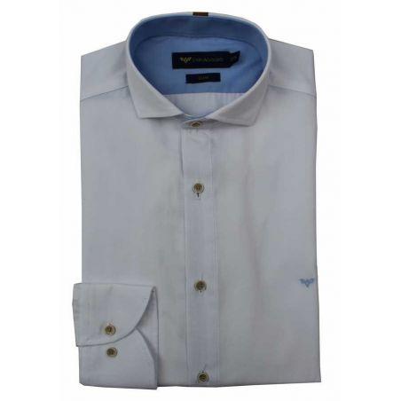 Camisa caballero blanca