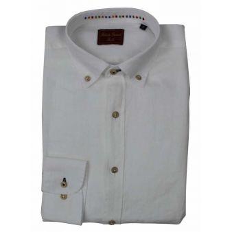 Camisa lino blanco