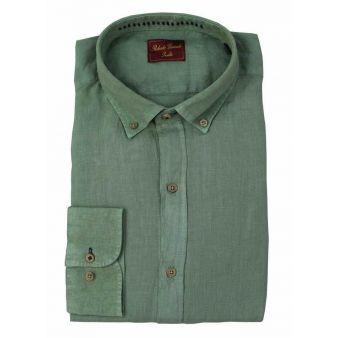 Camisa Lino Kaki
